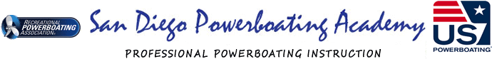 San Diego Powerboating Academy - Professional Powerboating Instruction - Recreational Powerboating Association certified